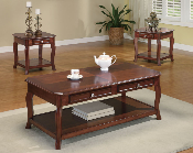 3 Pc Cherry Occasional Set