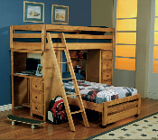 Loft Twin over Twin Bunk Bed