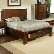Fergus County Queen Storage Bed