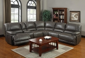 Darius Aces Charcoal Reclining Sectional
