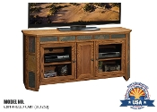 62-in angled TV cart by Legends Furniture