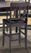 Espresso Counter Height Dining Chairs