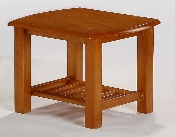 Standard Solid Wood Corona End Table