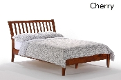 Spices Nutmeg Wood Bed or Platform Bed