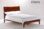 Spices Saffron Wood Bed or Platform Bed