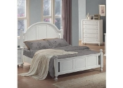 Kayla Queen Bed White Finish