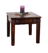 Santa Fe Cappuccino End Table