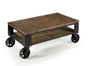 Pinebrook Small Cocktail Table w/ Casters
