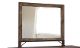 ANTIQUE COLLECTION Solid Pine Mirror IFD966MIRR