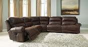 Lutrell 6 Pc Reclining Sectional