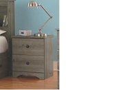 Night Stand Weathered Gray Ash 13212