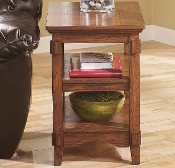 Cross Island Chairside End Table T719-7