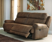 Austere Brown 2 Seat Reclining Sofa 3840081