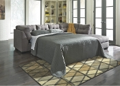 Maier Charcoal RAF Chaise Full Sleeper Sectional 45200-17-10