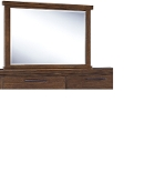 Ralene Medium Brown Mirror