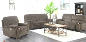 Pwr Sofa W/Adj HD Rest Encore/Smoke/10180-3PBPR