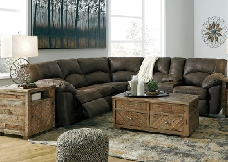 Ashley Tambo Canyon Reclining Sectional