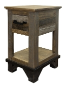 LOFT BROWN Chair Side Table IFD6441CST
