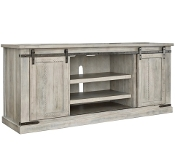 "Carynhurst Whitewash 70"" TV STAND"