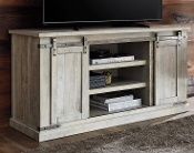 "Carynhurst Whitewash 60"" TV STAND"