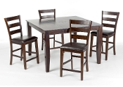 Kona Counter Height (5 Piece) Table & Chairs Set