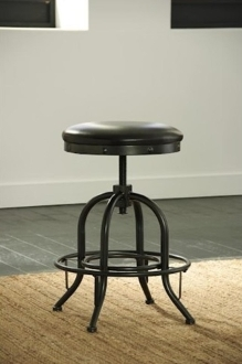 Shayneville Stool - Dark Brown (LAST ONE!)