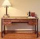 ANTIQUE MULTICOLOR Writing Desk