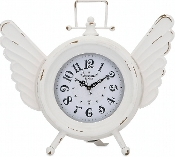 TIME FLIES TABLE CLOCK (CLOSEOUT)