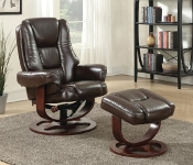 Euro Chair With Ottoman 2 PC Combo