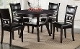 Gia Brown 5 Piece Round Dining Room Set