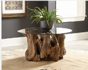 Coffee Table Natural Light Brown