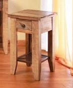 Antique Collection Chairside Table W/1 Drawer