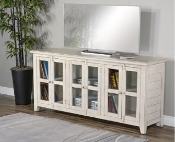Rustic Marble White Cabinet