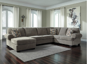 Jinllingsly 3 PC Chaise Sectional Gray