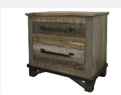 LOFT BROWN Nightstand