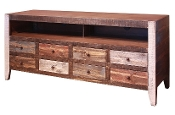 ANTIQUE COLLECTION 8 DRWR TV STAND