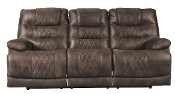 Ashley Welsford Walnut PWR REC Sofa With ADJ Headrest