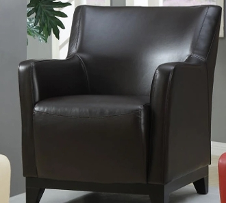 Accent Chair-Brown